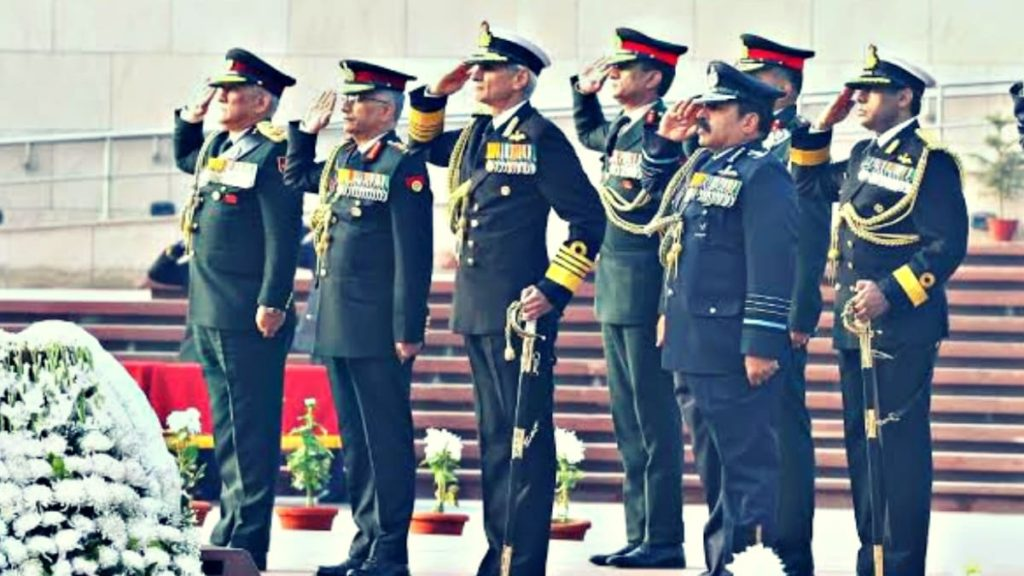 Different Types Of Salutes Its Significance In Indian Armed Forces Defencexp Indian Defence Network