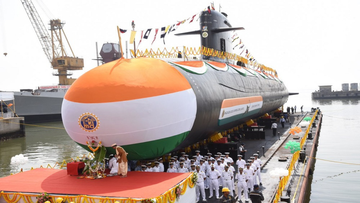 Indian Navy to get INS Vagir submarine from Mazagon Dock in six months .